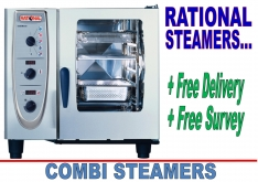 COMBINATION STEAMERS by RATIONAL - K.F.Bartlett LtdCatering equipment, refrigeration & air-conditioning